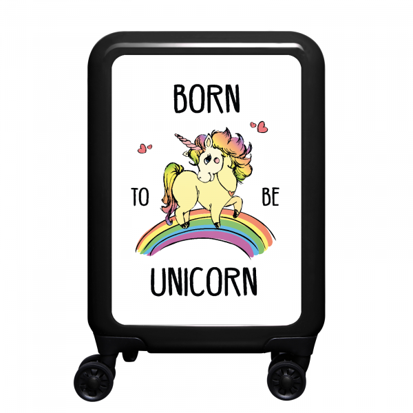 Front Born to be unicorn